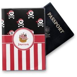 Pirate & Stripes Vinyl Passport Holder (Personalized)