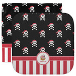Pirate & Stripes Facecloth / Wash Cloth (Personalized)