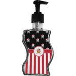 Pirate & Stripes Wave Bottle Soap / Lotion Dispenser (Personalized)