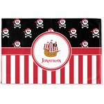 Pirate & Stripes Woven Mat (Personalized)
