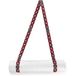 Pirate & Stripes Yoga Mat Strap (Personalized)