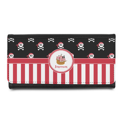 Pirate & Stripes Ladies Wallet (Personalized)