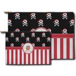 Pirate & Stripes Zipper Pouch (Personalized)