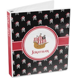 Pirate 3-Ring Binder (Personalized)