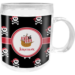 Pirate Acrylic Kids Mug (Personalized)