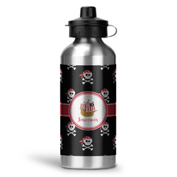 Pirate Water Bottle - Aluminum - 20 oz (Personalized)
