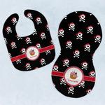 Pirate Baby Bib & Burp Set w/ Name or Text