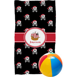 Pirate Beach Towel (Personalized)