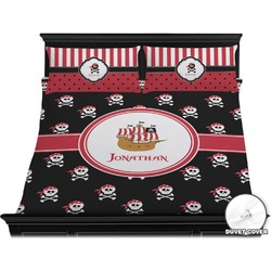 Pirate Duvet Cover Set - King (Personalized)
