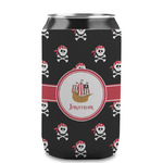 Pirate Can Sleeve (12 oz) (Personalized)