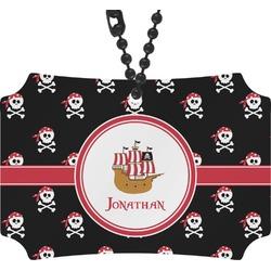 Pirate Rear View Mirror Ornament (Personalized)