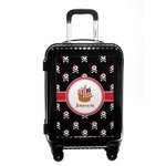 Pirate Carry On Hard Shell Suitcase (Personalized)