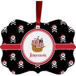 Pirate Ornament (Personalized)