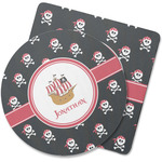 Pirate Rubber Backed Coaster (Personalized)