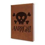Pirate Leatherette Journal (Personalized)