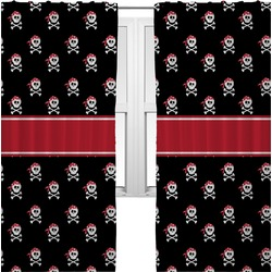 Pirate Curtains (2 Panels Per Set) (Personalized)