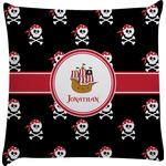 Pirate Decorative Pillow Case (Personalized)