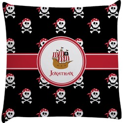 Pirate Decorative Pillow Case (Personalized)