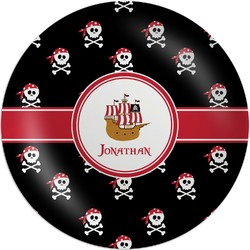 Pirate Melamine Plate (Personalized)