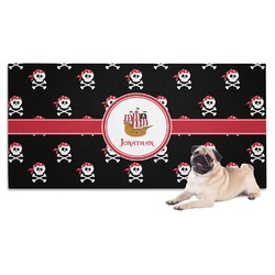 Pirate Dog Towel (Personalized)