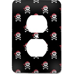 Pirate Electric Outlet Plate (Personalized)