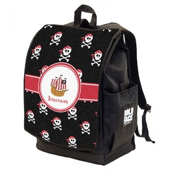 Pirate Backpack w/ Front Flap  (Personalized)