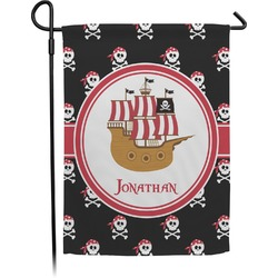 Pirate Garden Flag (Personalized)