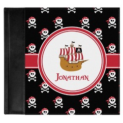 Pirate Genuine Leather Baby Memory Book (Personalized)