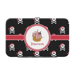 Pirate Genuine Leather Small Framed Wallet (Personalized)