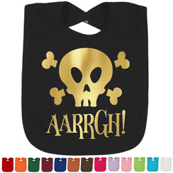 Pirate Foil Toddler Bibs (Select Foil Color) (Personalized)