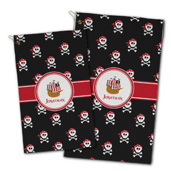 Pirate Golf Towel - Full Print w/ Name or Text