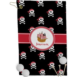 Pirate Golf Towel - Full Print (Personalized)