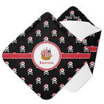 Pirate Hooded Baby Towel (Personalized)