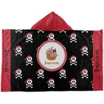 Pirate Kids Hooded Towel (Personalized)