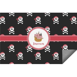 Pirate Indoor / Outdoor Rug - 6'x9' (Personalized)