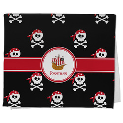 Pirate Kitchen Towel - Full Print (Personalized)