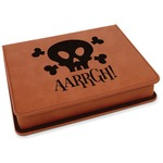 Pirate Leatherette 4-Piece Wine Tool Set (Personalized)