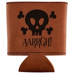 Pirate Leatherette Can Sleeve (Personalized)