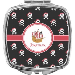 Pirate Compact Makeup Mirror (Personalized)
