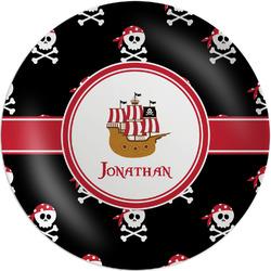 Pirate Melamine Plate (Personalized)
