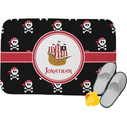 Pirate Memory Foam Bath Mat (Personalized)