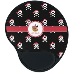Pirate Mouse Pad with Wrist Support