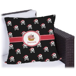 Pirate Outdoor Pillow (Personalized)