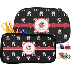 Pirate Pencil / School Supplies Bag (Personalized)