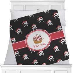 Pirate Minky Blanket (Personalized)