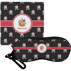 Pirate Eyeglass Case & Cloth (Personalized)