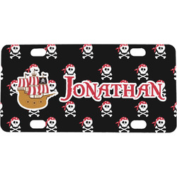 Pirate Mini / Bicycle License Plate (Personalized)