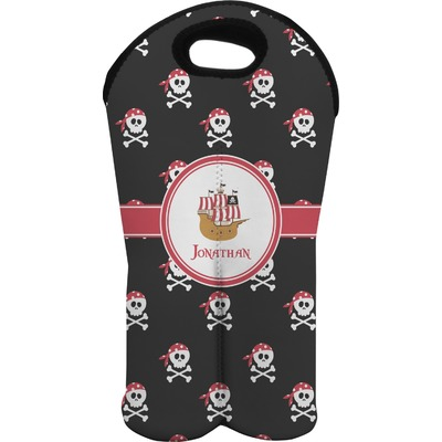 Pirate Wine Tote Bag (2 Bottles) (Personalized)