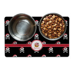 Pirate Dog Food Mat (Personalized)