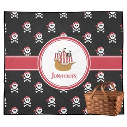 Pirate Outdoor Picnic Blanket (Personalized)